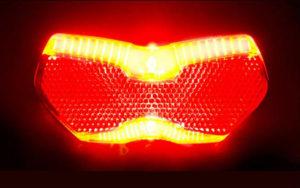 Rücklicht mit Bremslicht von Busch & Müller