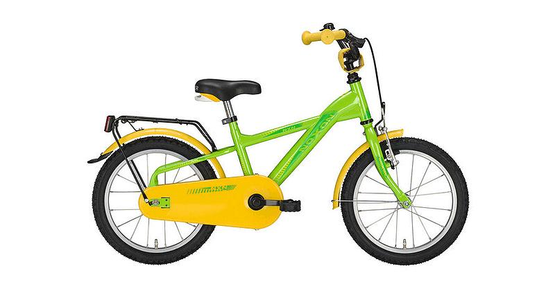 Noxon Kinderrad Wave Grün/Gelb
