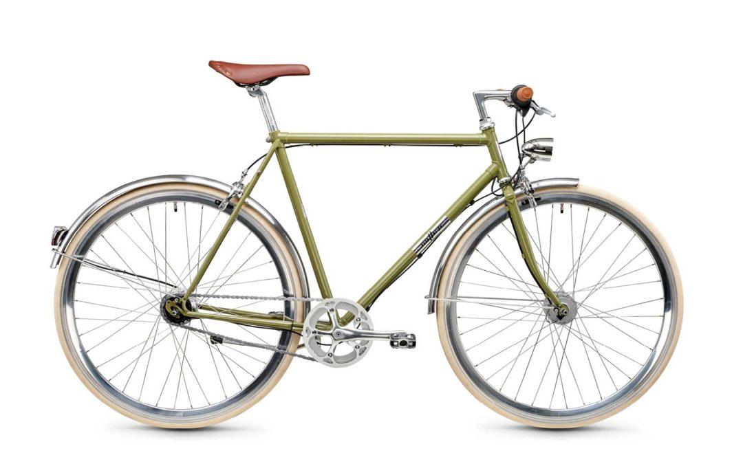 New College Diamant 7G 57 Schilfgrün, Urbanbike