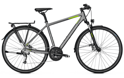 Raleigh Rushhour 3.0 Herrenrad oder Trapez, Disc, torontogreymatt