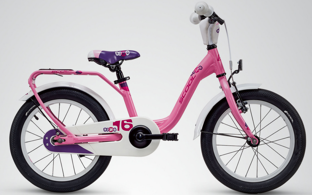 Kinderrad, S´cool Nixe alloy, 16Zoll, 1 Gang, pink