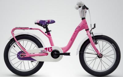 Kinderrad, S´cool Nixe alloy, 16Zoll, 1 Gang, pink